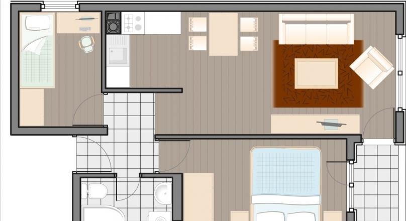 Nova gradnja! Dvoiposoban stan! ID:1564a/EN